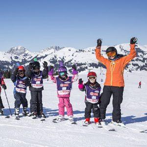 Hotels in Switzerland   Huus Gstaad   Children's Ski