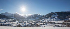 Ski Resorts in Switzerland   Huus Gstaad   Kids Skiing
